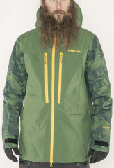Balfour GTX Pro 3L Jacket - forest green marble