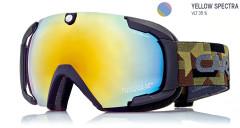 Carrera Sjezdové brýle CLIFF EVO SPH (Yellow Spectra SPH) Zelená/černá