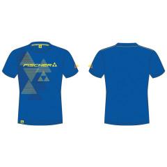 pánské triko Fischer Bromont - modrá