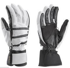 Dámské lyžařské komfortní rukavice Leki Core S GTX Lady - bílá.