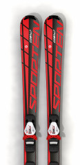 rekreační sjezdové lyže Sporten Cobalt red