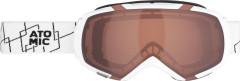 lyžařské brýle Atomic Revel M bílá