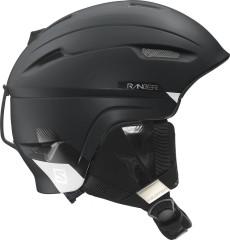 lyžařská helma salomon L37771800_RANGER_4D_black_mat