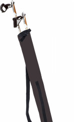 Leki Nordic Walking pole bag black