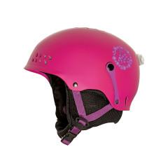 juniorská lyžařská helma K2 Entity_Pink