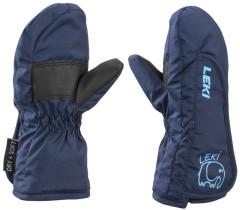 dětské lyžařské rukavičkyLeki Smiley Kids Mitten - navy