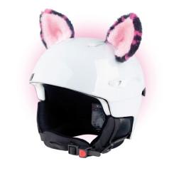 Crazy uši kočka růžová