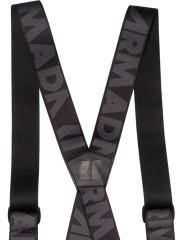 Stage Suspenders černá/šedá