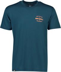 merino triko Icon T-Shirt - modrá