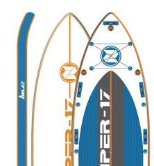 paddleboard ZraySuper 17
