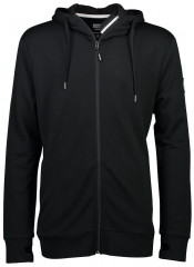 merino mikina COVERT MID-HIT HOODY black