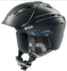 lyžařská helma Uvex P2US černá