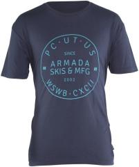 triko Armada Big Badge Tee Navy