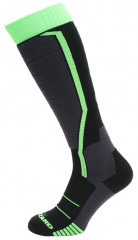 BLIZZARD Allround ski socks, black:anthracite:green_789188493