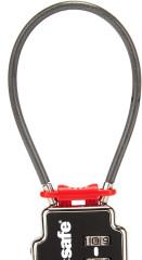 zámek Pacsafe TSA Accepted 3-Dial Double Cable Lock
