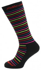BLIZZARD Viva Allround ski socks, black:rainbow stripes