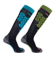 lyžařské ponožky Salomon S/Access 2 Pack