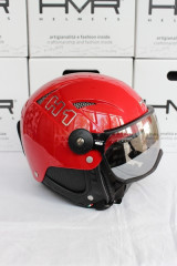 H1 Soft Rosso/Red + štít VTS1B