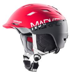 lyžařská helma Marker Ampire červená
