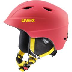 juniorská lyžařská helma Uvex Airwing 2 Pro červená