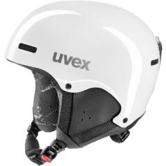 juniorská lyžařská helma Uvex Hlmt 5 Junior bílá