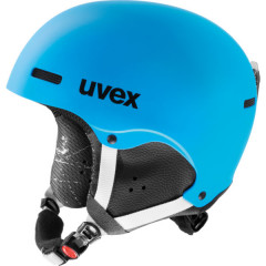 juniorská lyžařská helma Uvex Hlmt 5 Junior modrá