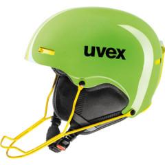 lyžařská helma Uvex Hlmt 5 Race zelená