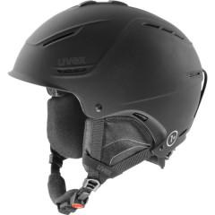 lyžařská helma Uvex P1US černá