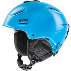 lyžařská helma Uvex P1US modrá