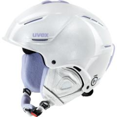 dámská lyžařská helma Uvex P1US Pro WL bílá