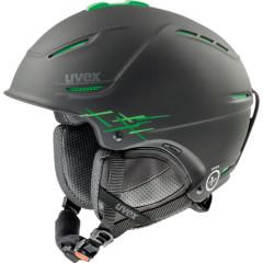 lyžařská helma Uvex P1US Pro zelená