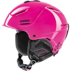 lyžařská helma Uvex P1US růžová