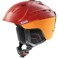 lyžařská helma Uvex P2US oranžová