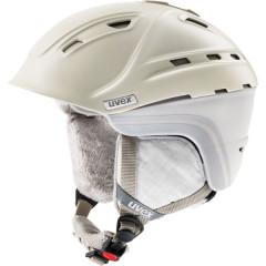 dámská lyžařská helma Uvex P2US WL béžová