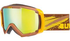 lyžařské brýle UVEX APACHE 2 hnědá