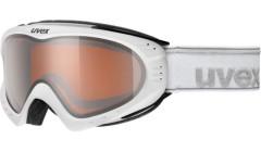 lyžařské brýle UVEX F2 POLA bílá