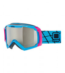 lyžařské brýle UVEX G.GL 100 modrá silver mirror