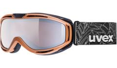 lyžařské brýle UVEX HYPERSONIC hnědá