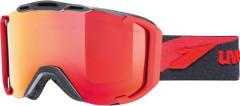 lyžařské brýle Uvex Snowstrike LTM červená
