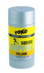 stoupací vosk TOKO Nordic GripWax yellow