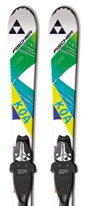 Fischer Koa Jr. Rail 130 cm + FJ7