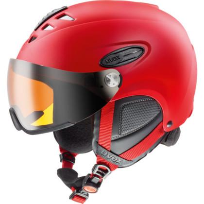 Uvex Hlmt 300 Visor - červená