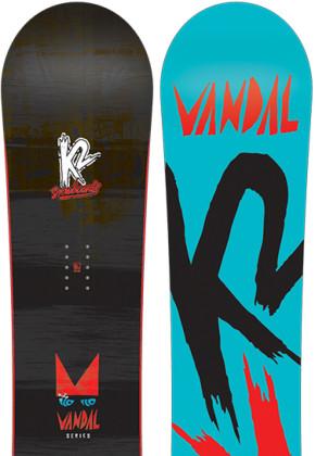 K2 Snowboarding Vandal Wide