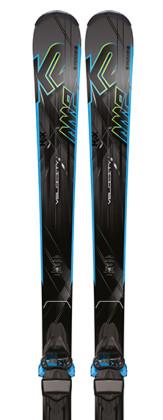 K2 AMP Velocity + M3 11 TC - testovací lyže