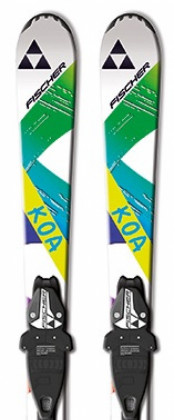 Fischer Koa Jr. Rail 140-150 cm + FJ7
