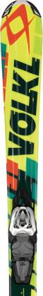 Völkl Junior Racetiger Yellow 130 - 160 cm + 3Motion 7.0
