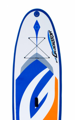 "Gladiator All water 10'8"" - 34"" - oranžová/modrá"