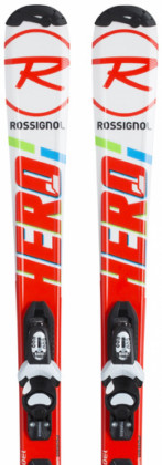 Rossignol Hero JR 100-130 + Kid X 4