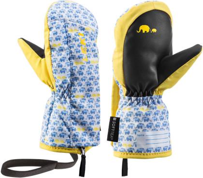 Leki Little Elephant Zap Mitt - modrá/žlutá