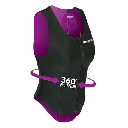 Komperdell Protector Pro Vest Women - růžová/černá